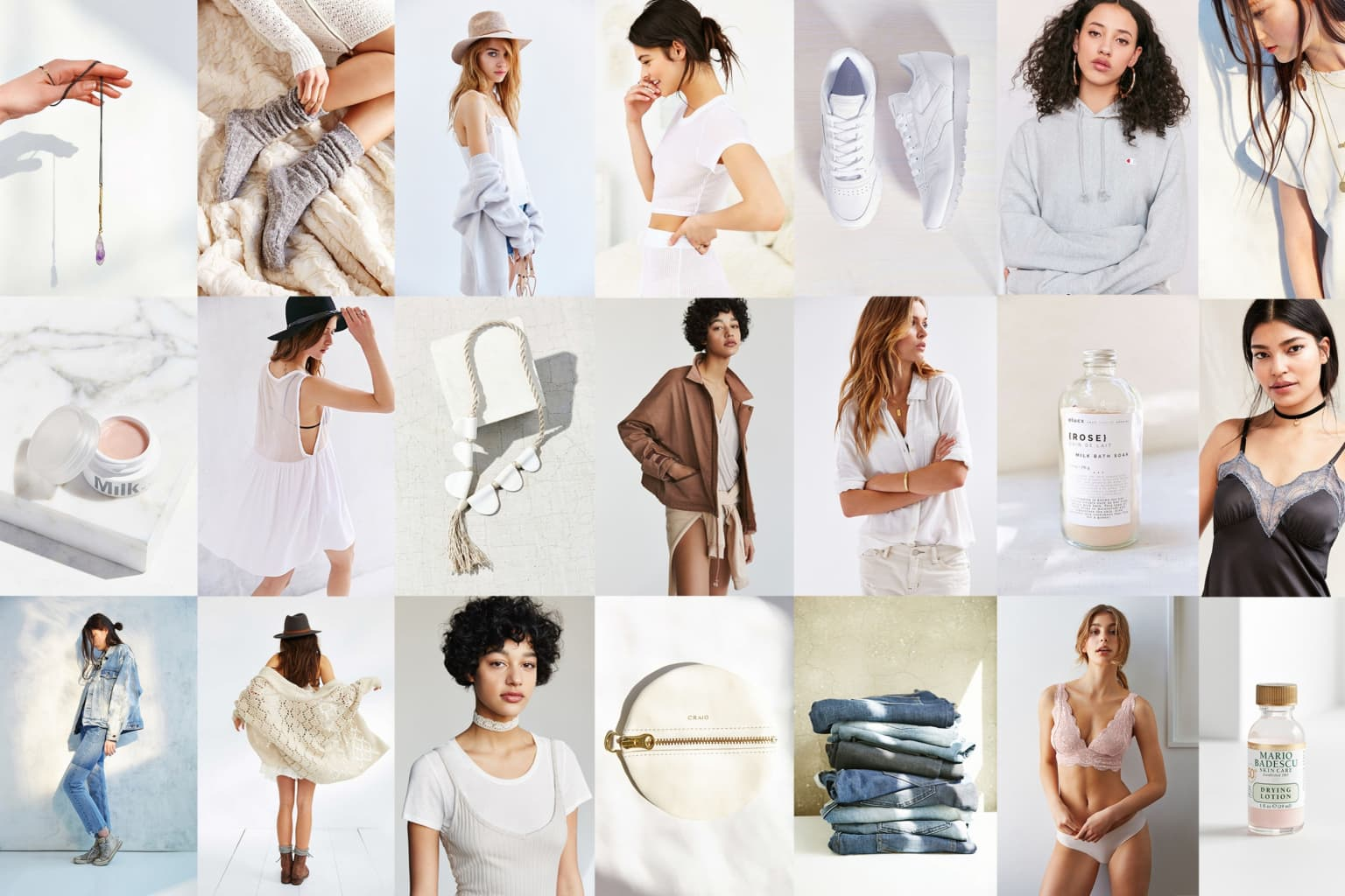 Urban Outfitters Brand Imagery + Marketing