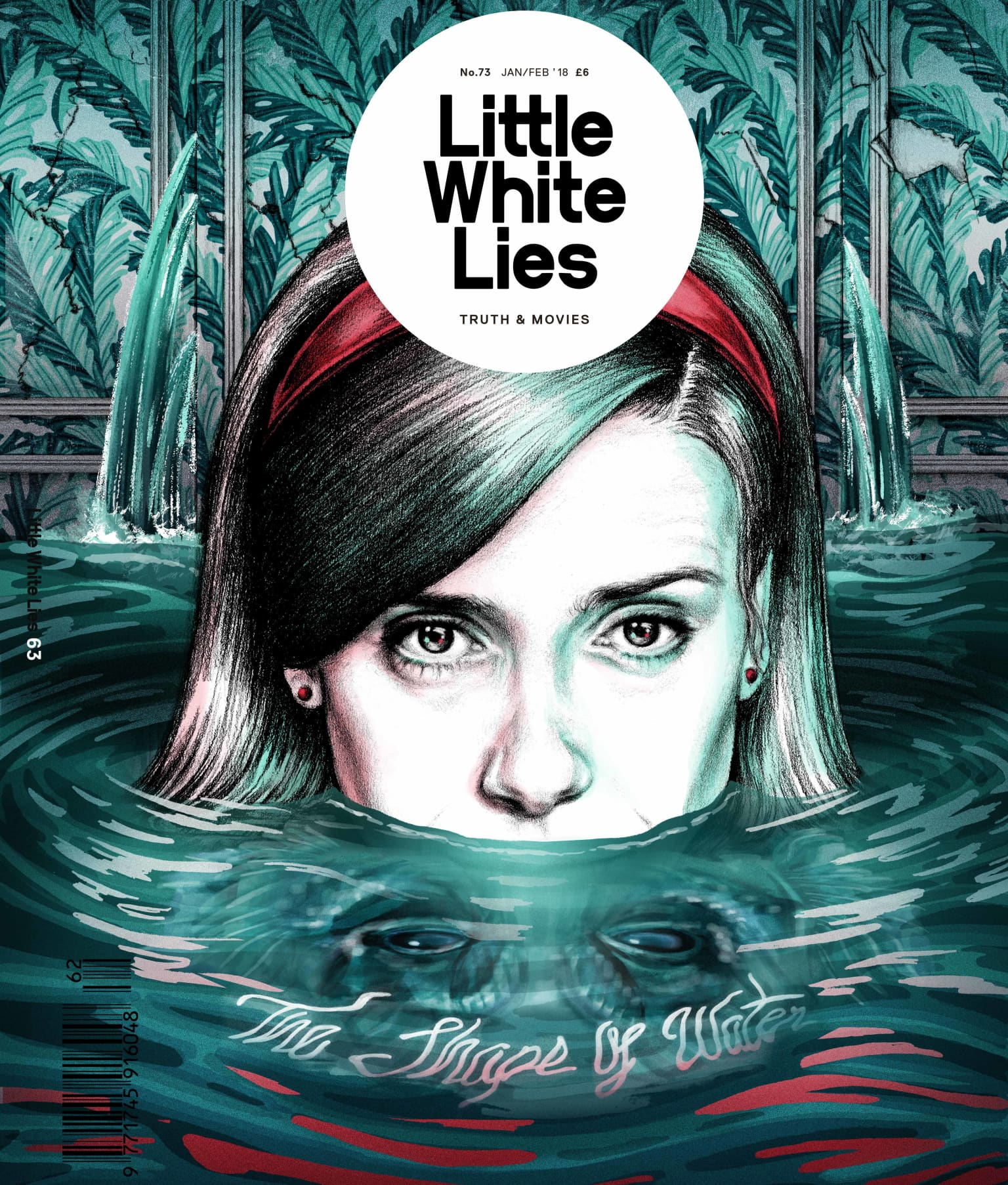'The Shape of Water' for Little White Lies Issue 73