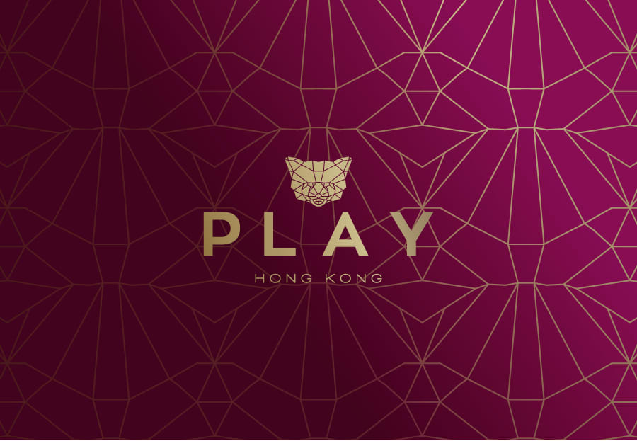 Play — Identity for the new-era of Play nightclub in Hong Kong
