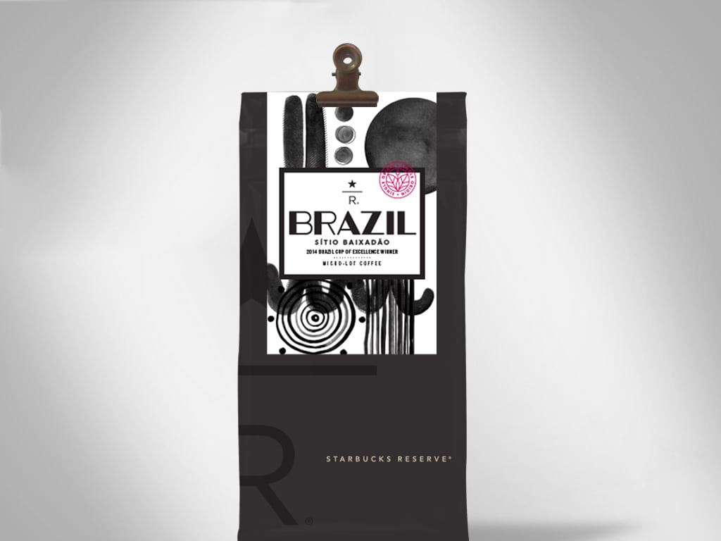 Starbucks Reserve Coffee Packaging