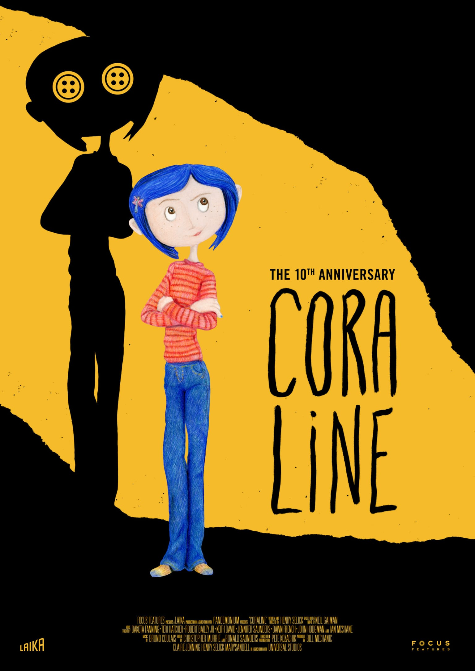 Coraline Movie Poster Wnw