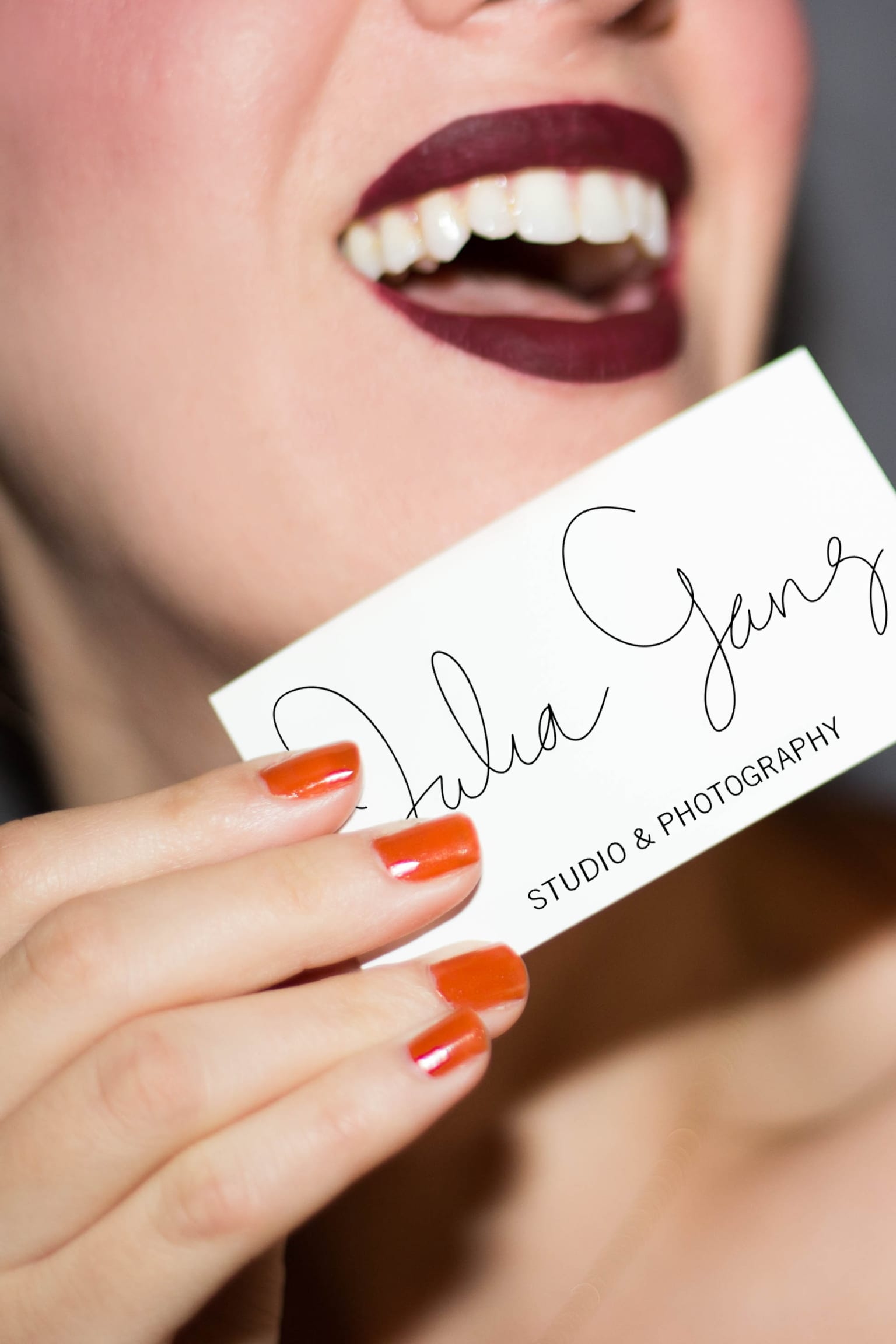 Business Card launch