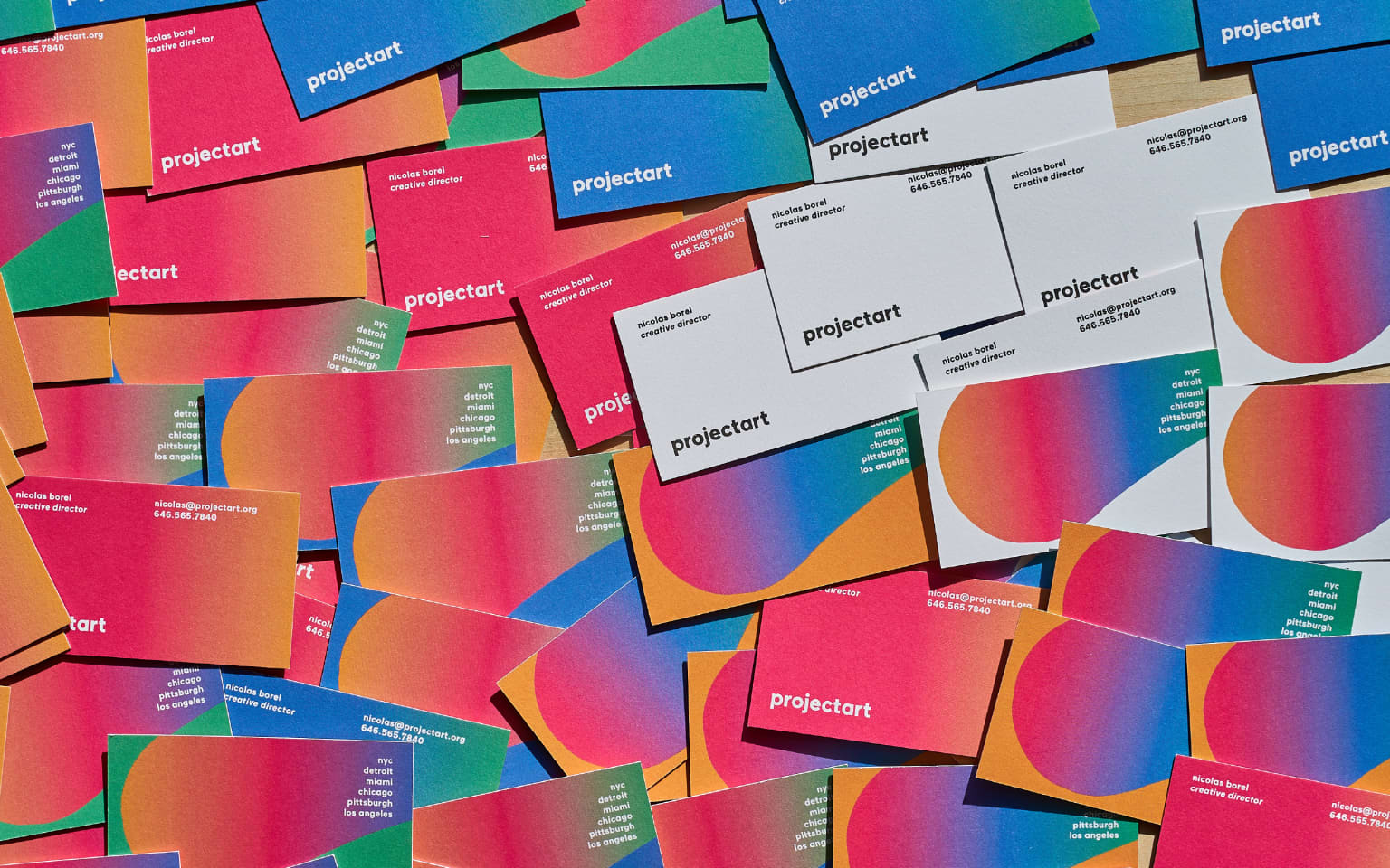 ProjectArt; identity design & creative direction