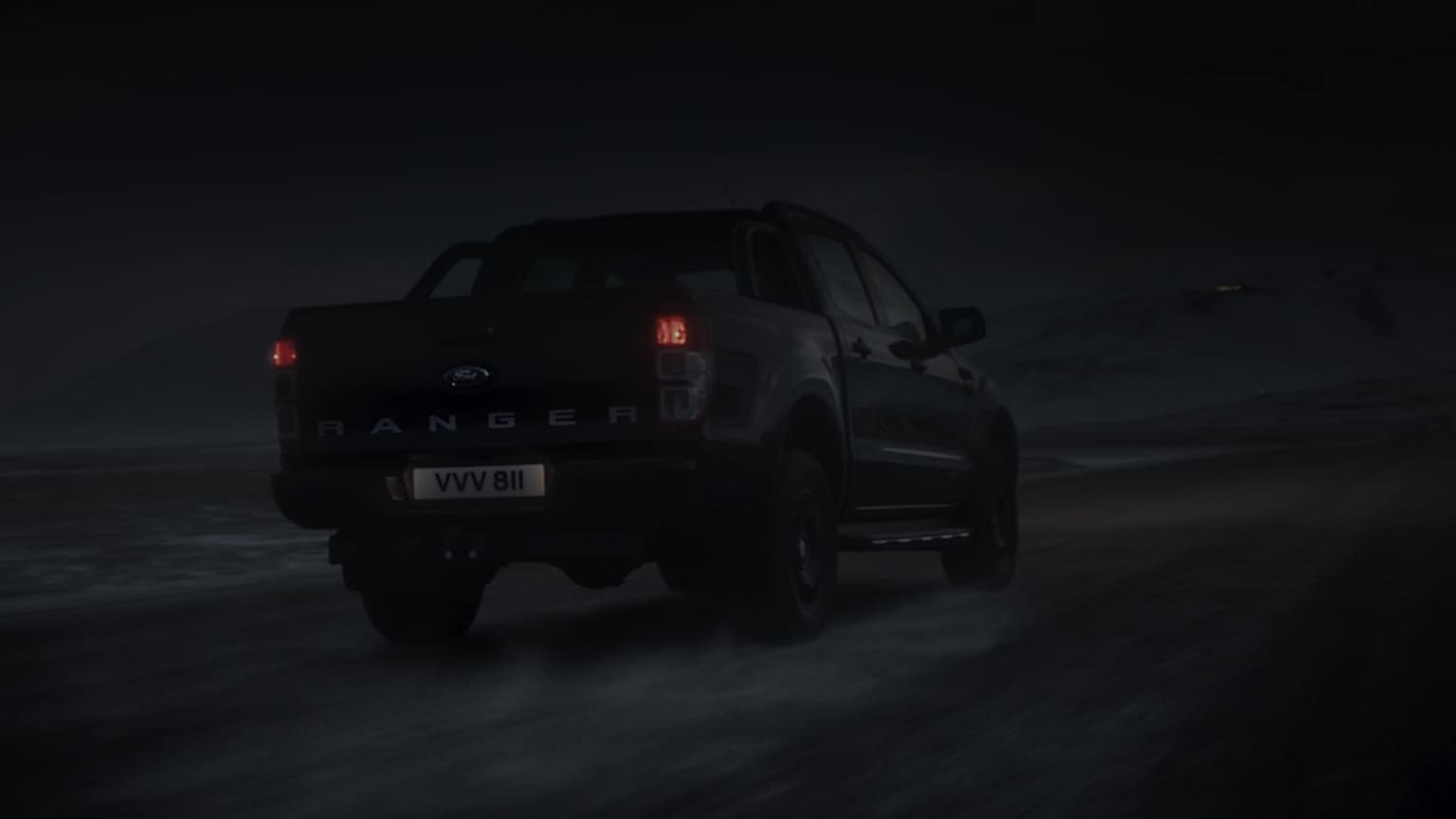 100 Days Of Dark - Ford Ranger 'Black Edition'