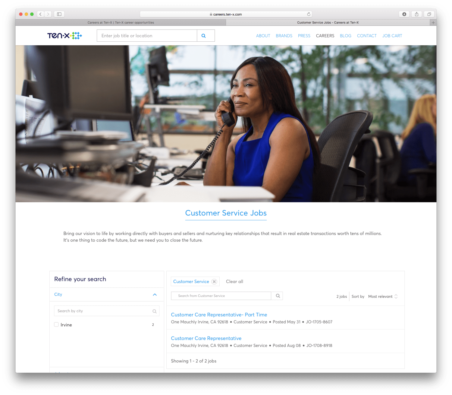 Ten-X Commercial Corporate Image Library