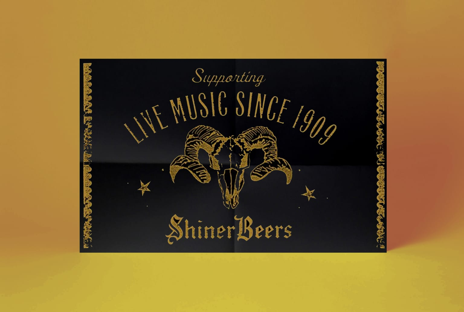 Shiner Beer Posters