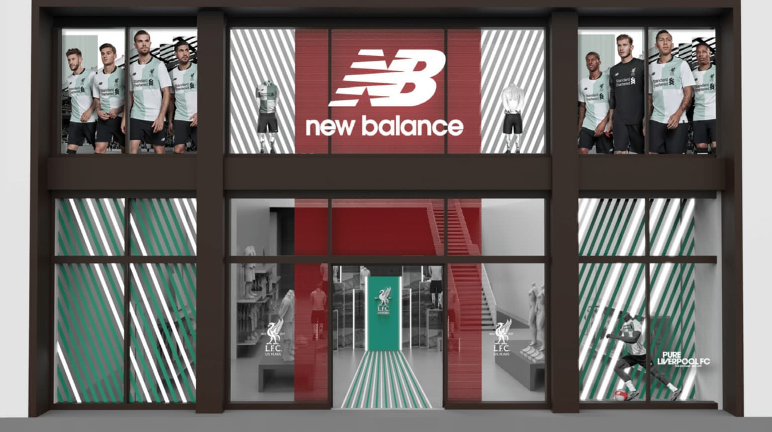 New Balance x Liverpool Football Club