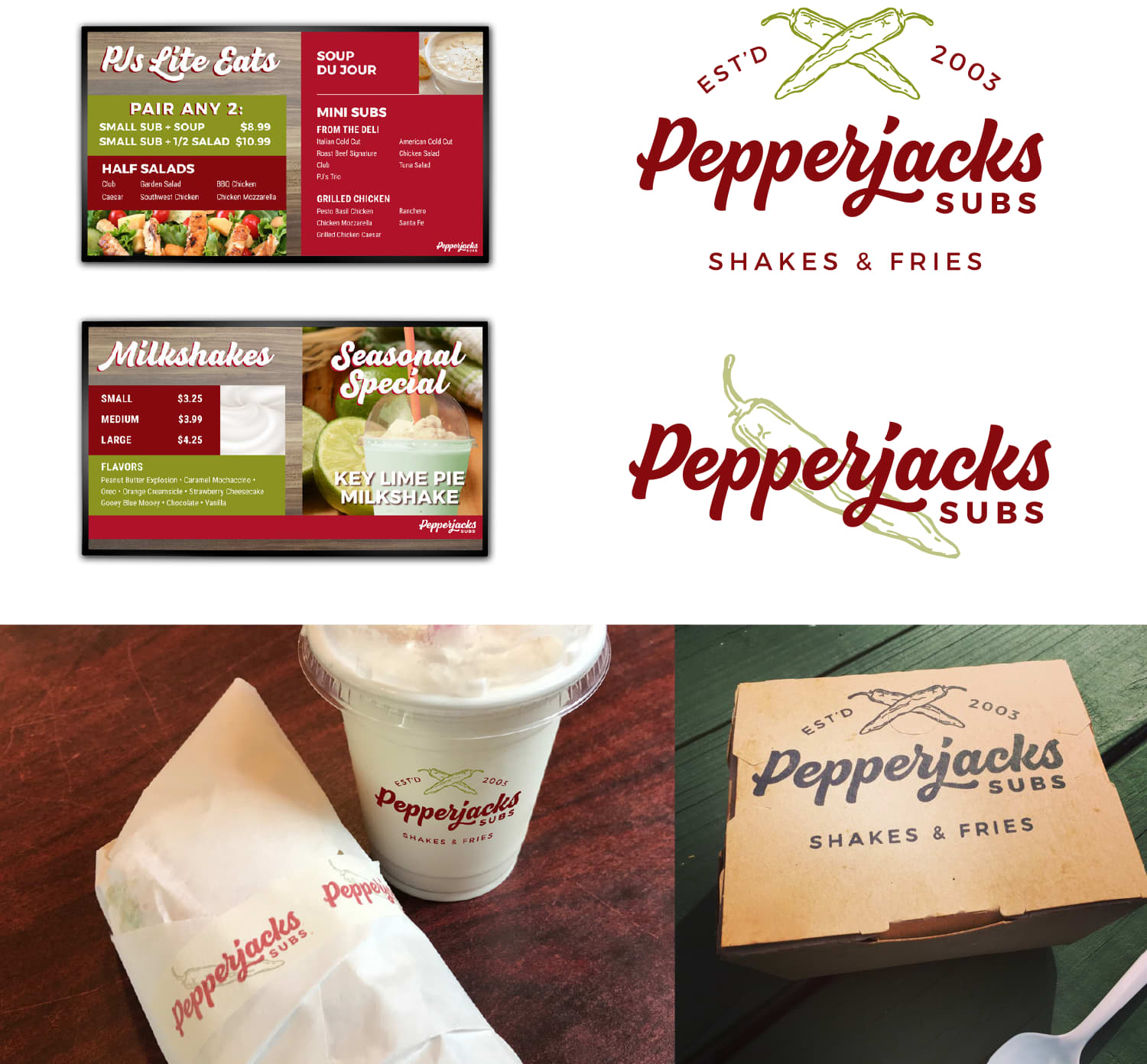 Pepperjacks Branding