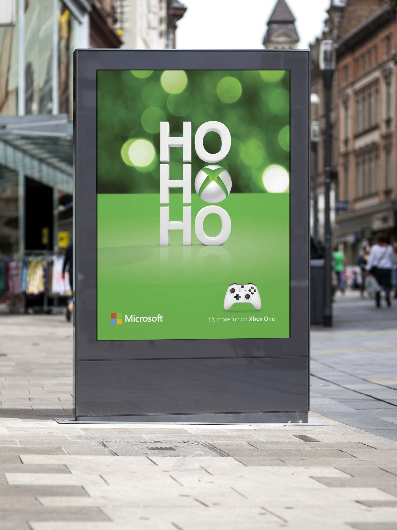 Microsoft Store Holiday Campaign