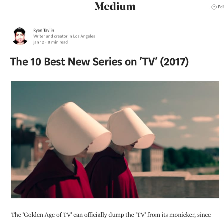 10 Best New Series of 2017