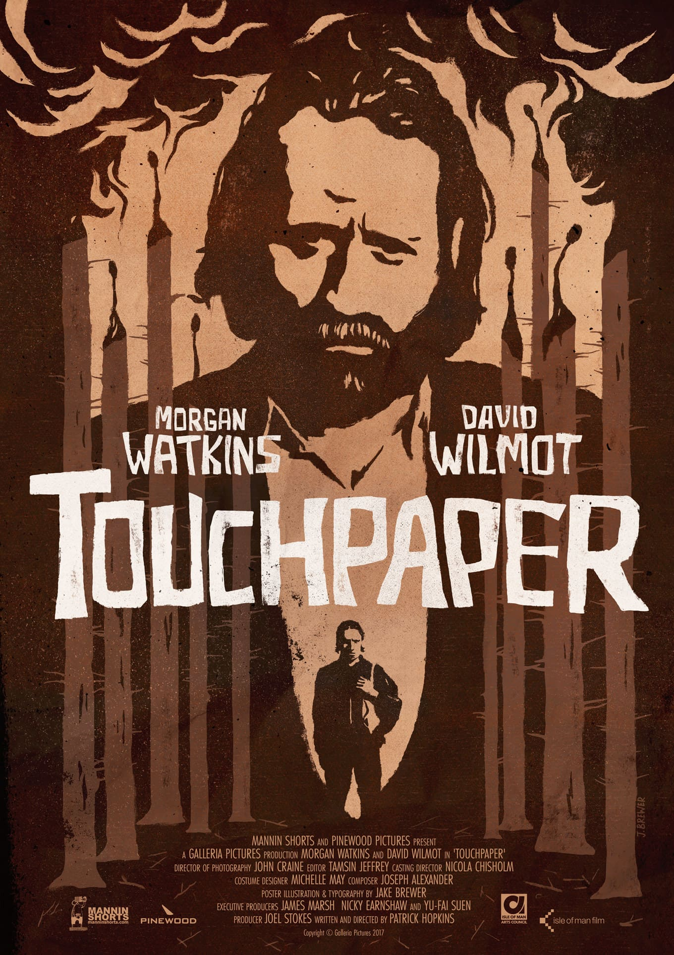 """Touchpaper"" Film Artwork & Type"