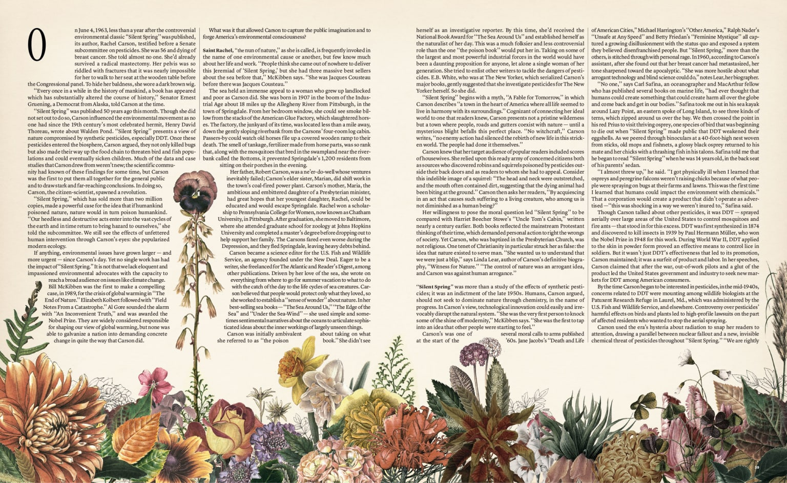 The NYTimes Magazine / Silent Spring Feature