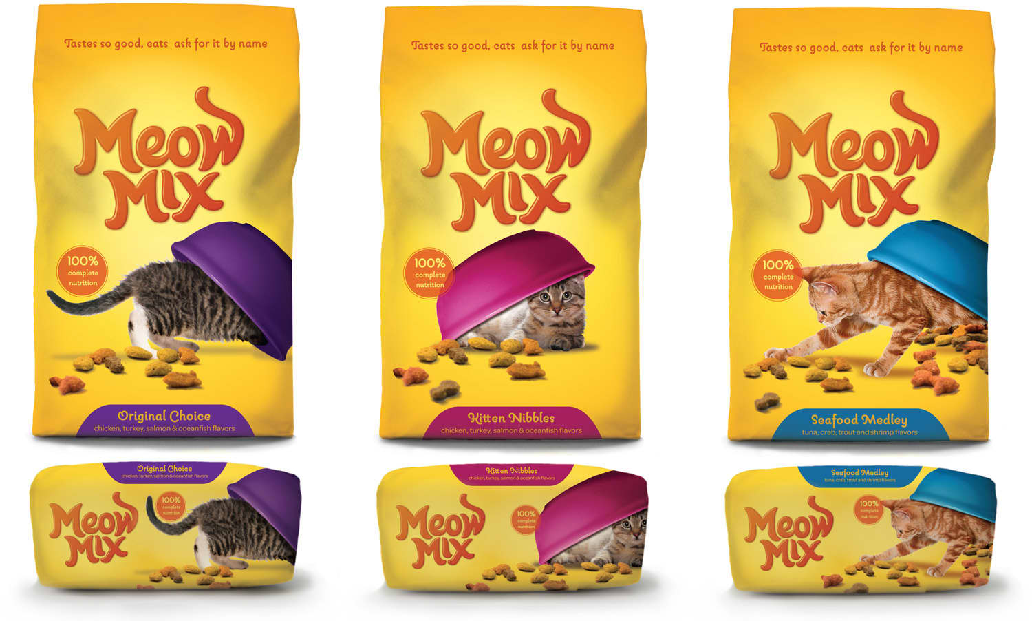 Meow Mix / Packaging Design System