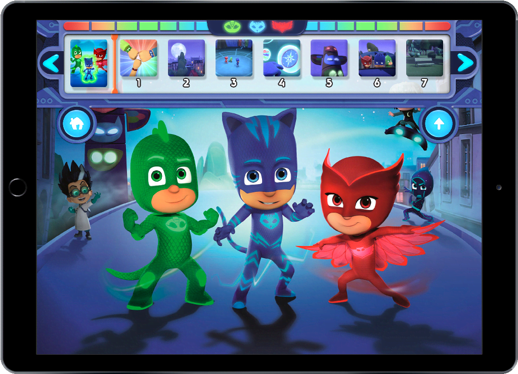 Disney Junior Appisodes UI and Game Assets