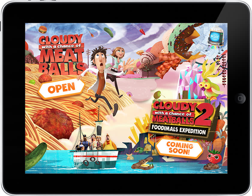 Cloudy with a Chance of Meatballs App