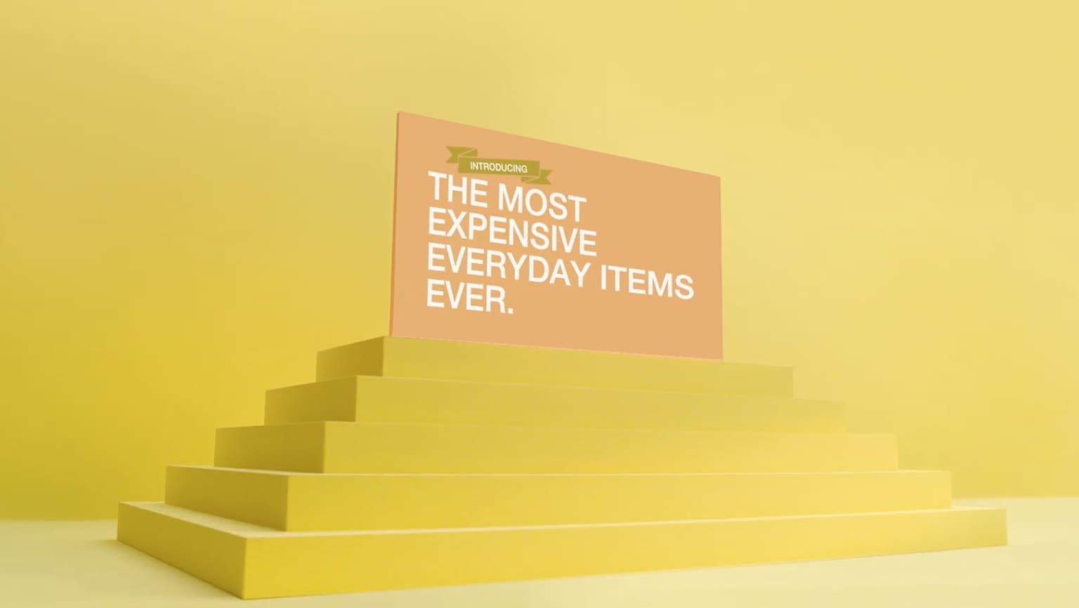 The most expensive everyday items ever