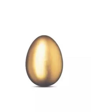 The golden egg, re-judged