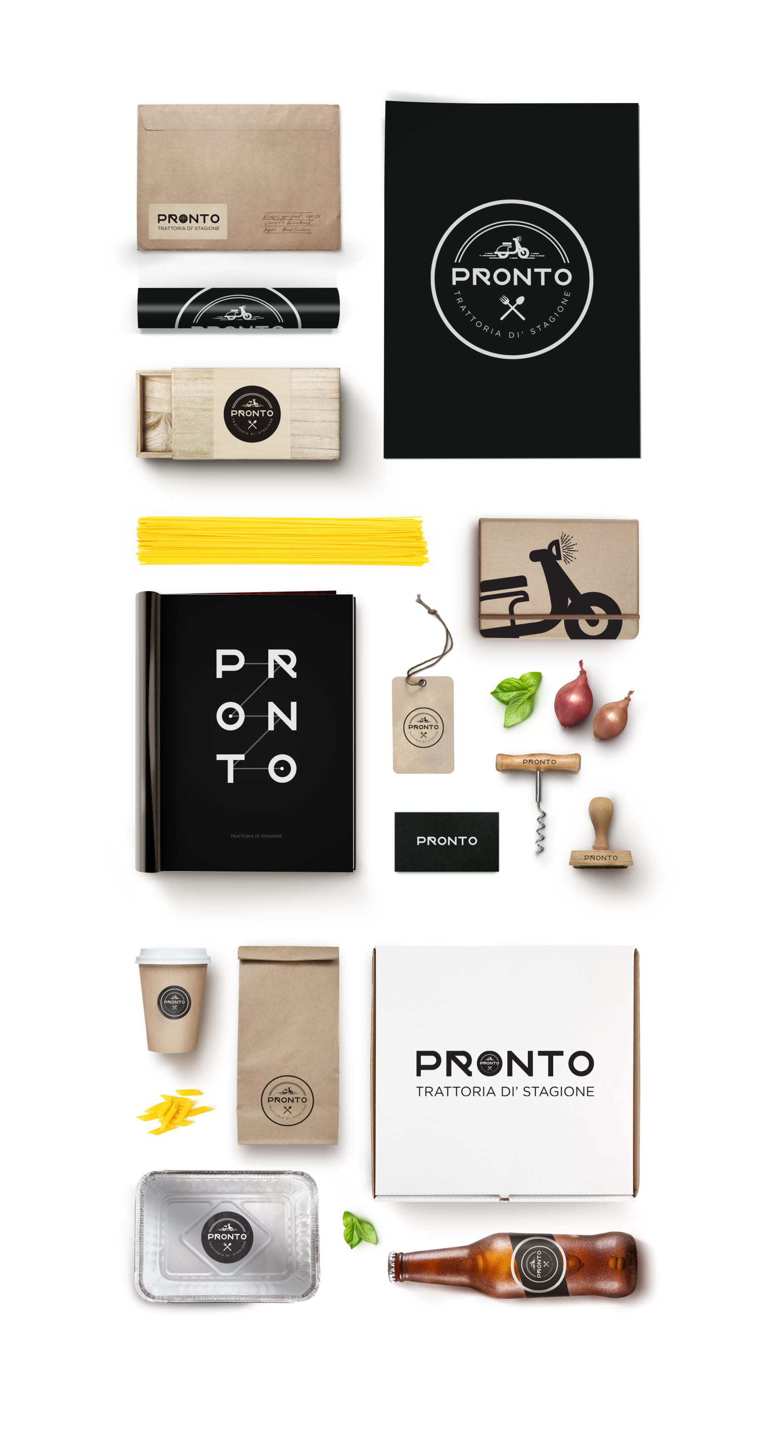 Pronto Visual Identity