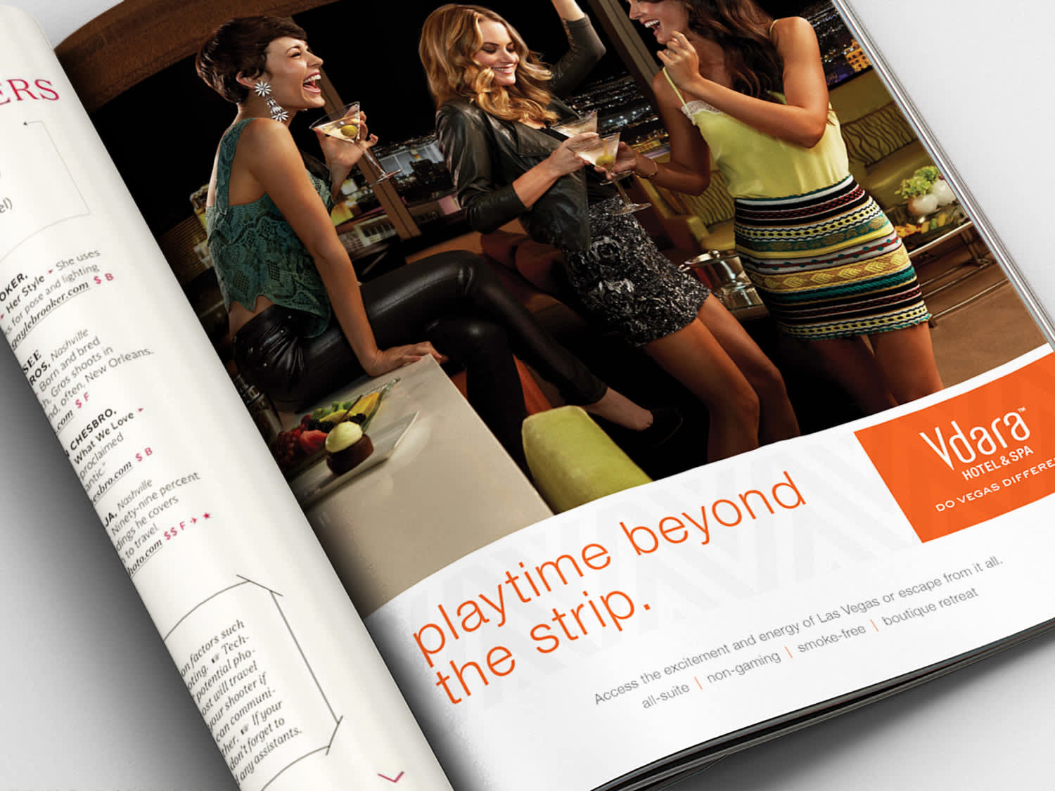 Vdara Hotel & Spa Advertising Campaign