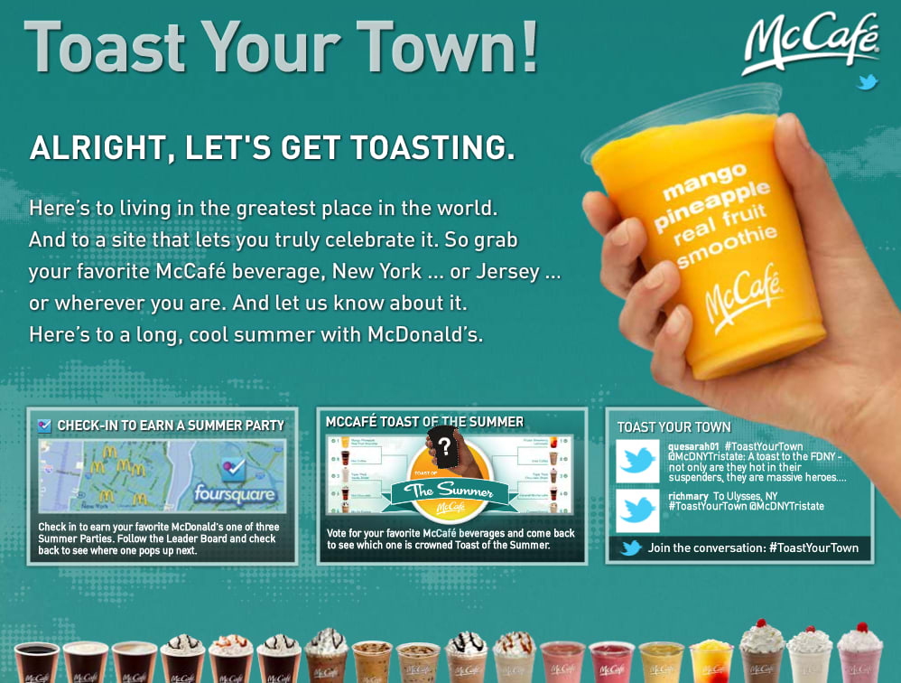 Toast Your Town