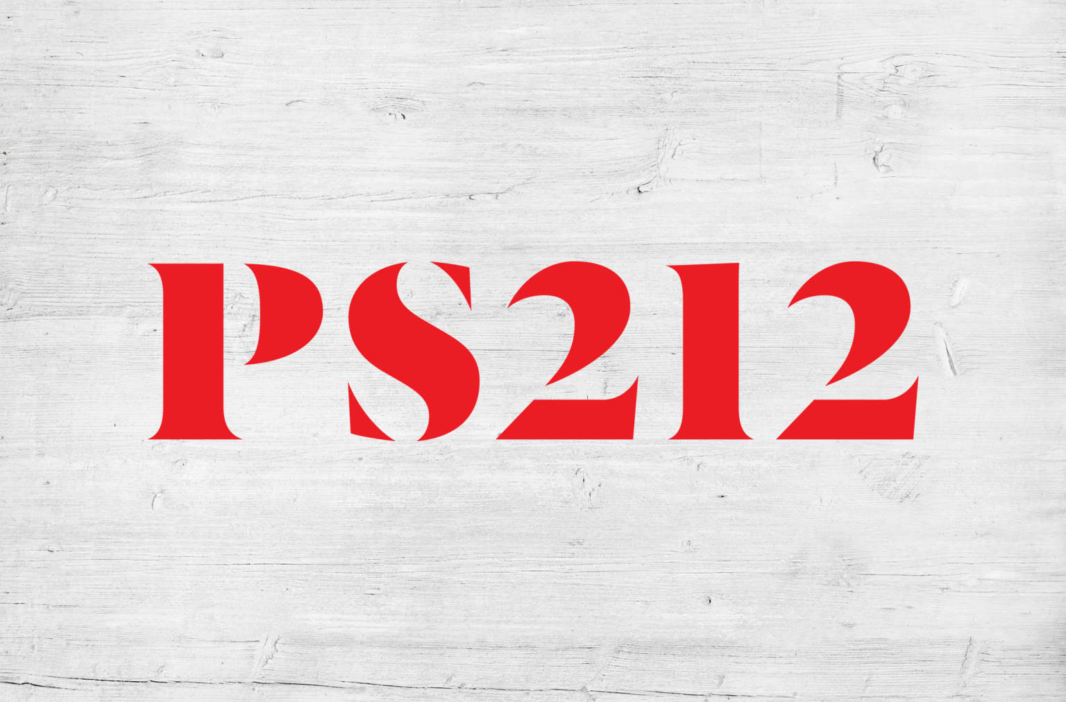 PS212 Logo and Visual Identity