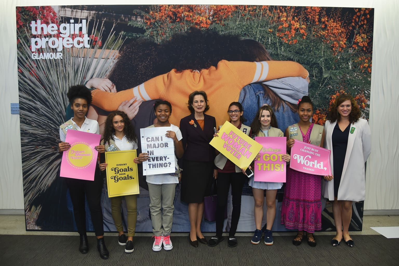 International Day of the Girl Rally Posters