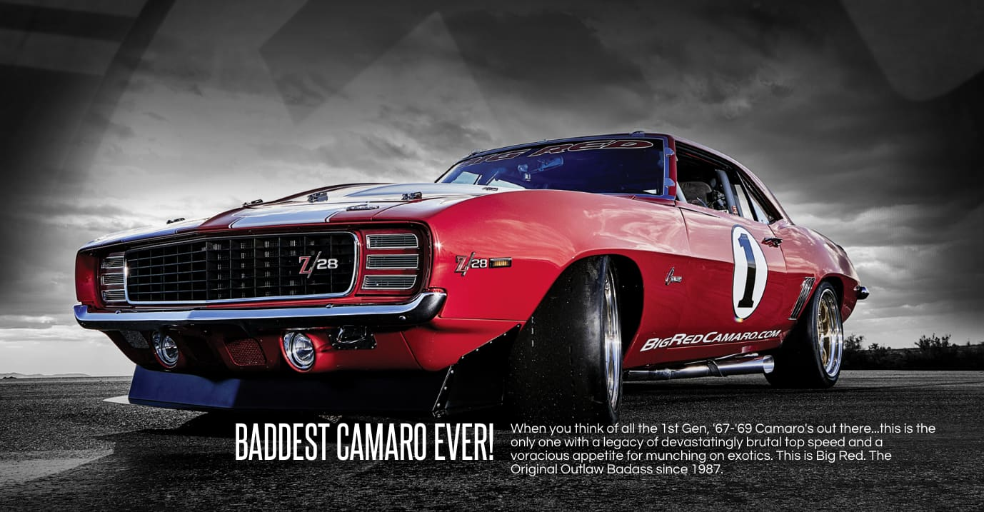 Big Red - The Original Outlaw Racer (TV Series)
