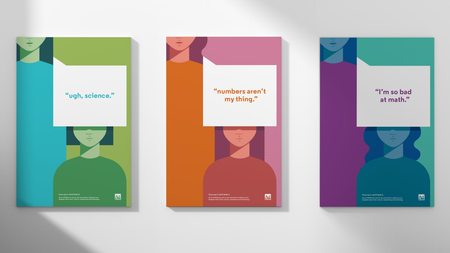 Ad Council — Girls in STEM Poster Series