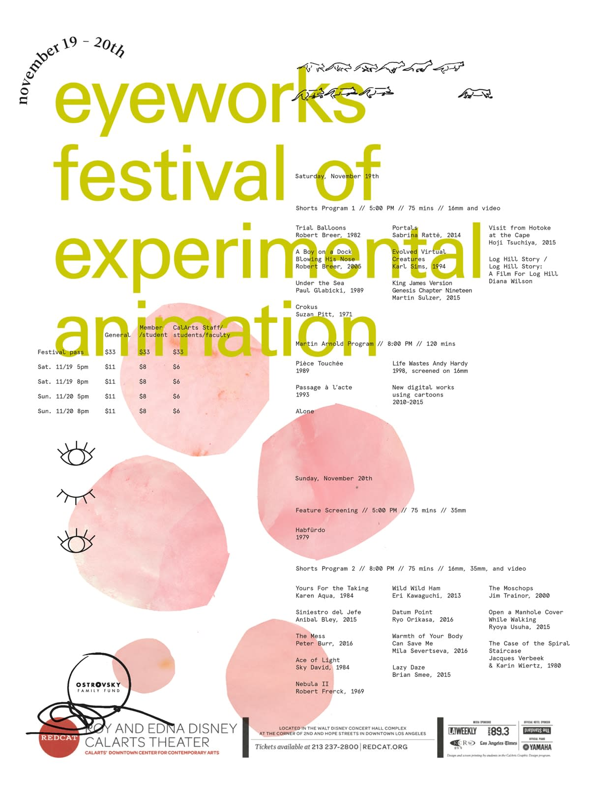 Eyeworks Festival of Experimental Animation