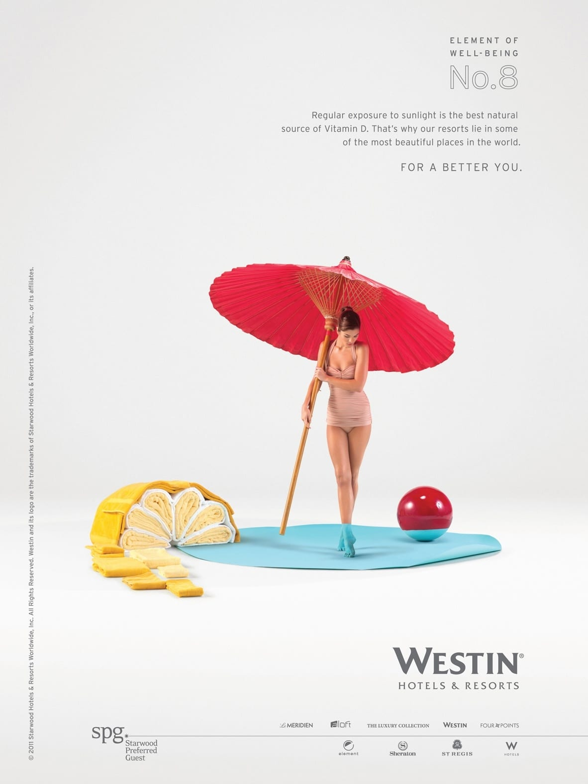 Westin Hotels - Elements of well being