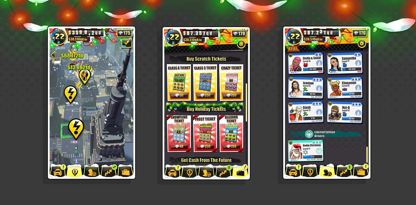 Crazy Taxi Gazillionaire Holiday Update