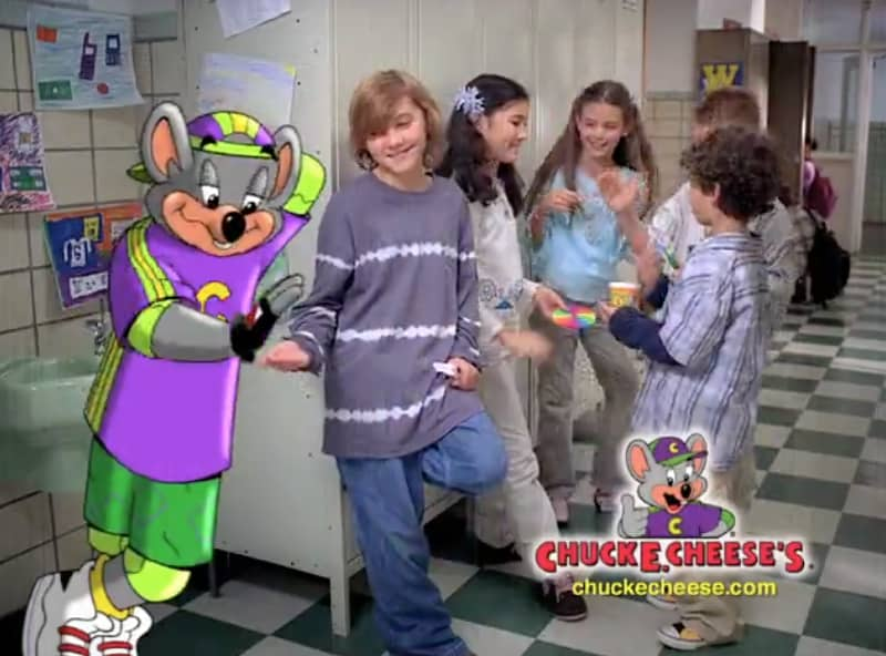 """Chuck E Cheese - """"The Real Cool Place"""""""