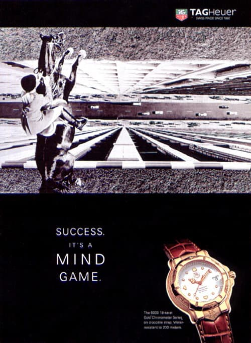 """Tag Heuer - """"It's A Mind Game."""""""