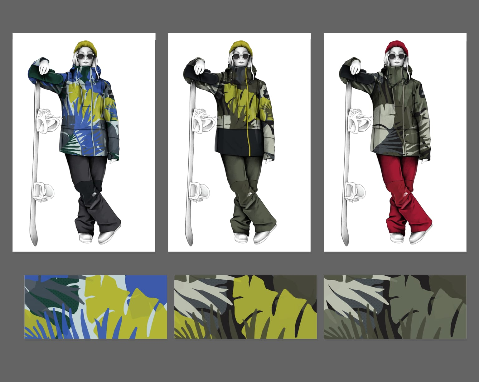 Color & Trend Design: The North Face