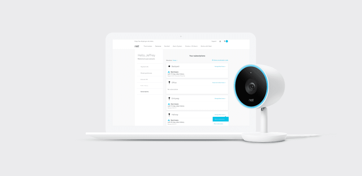 Nest Subscription Management Tool