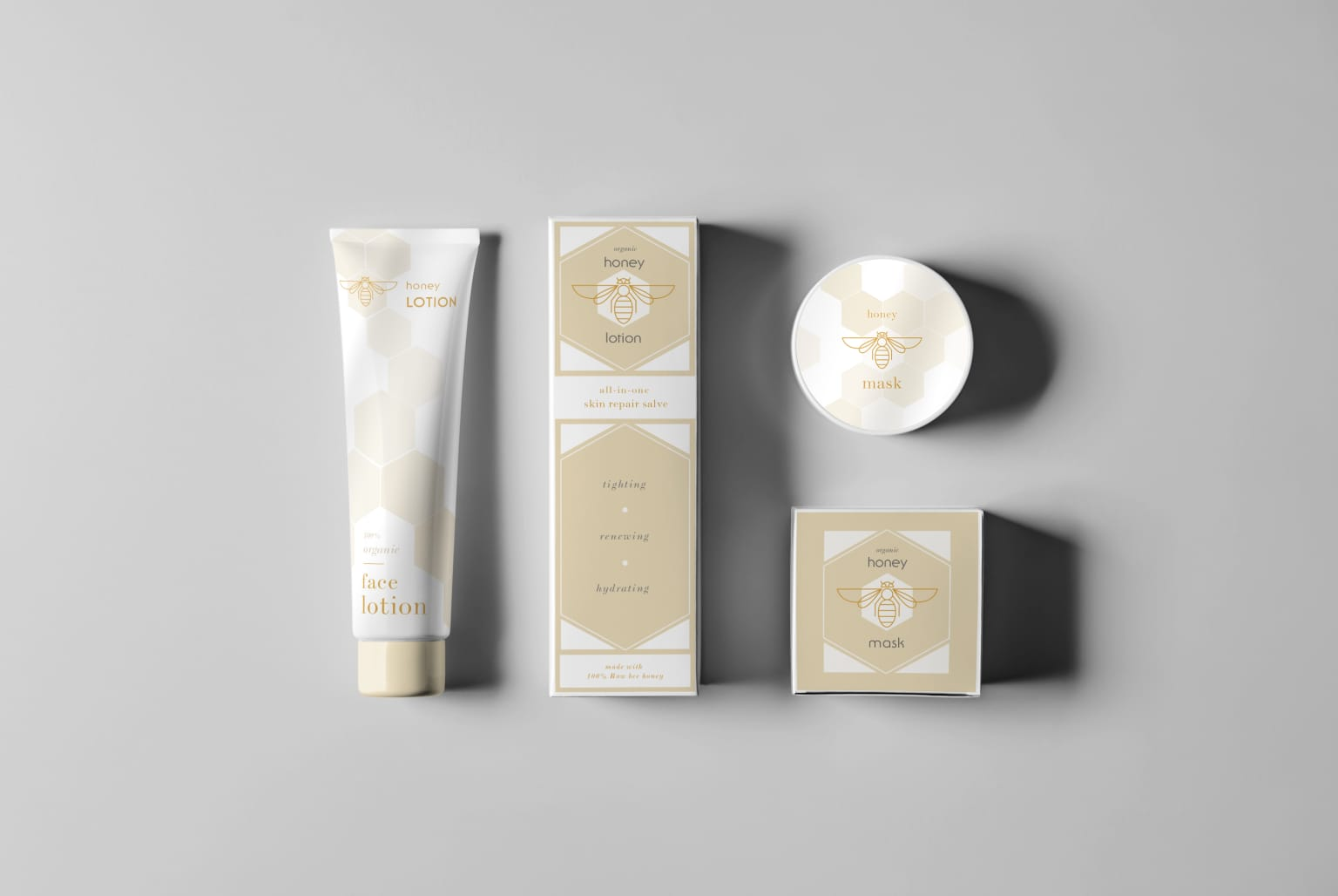 Cosmetic packaging and branding