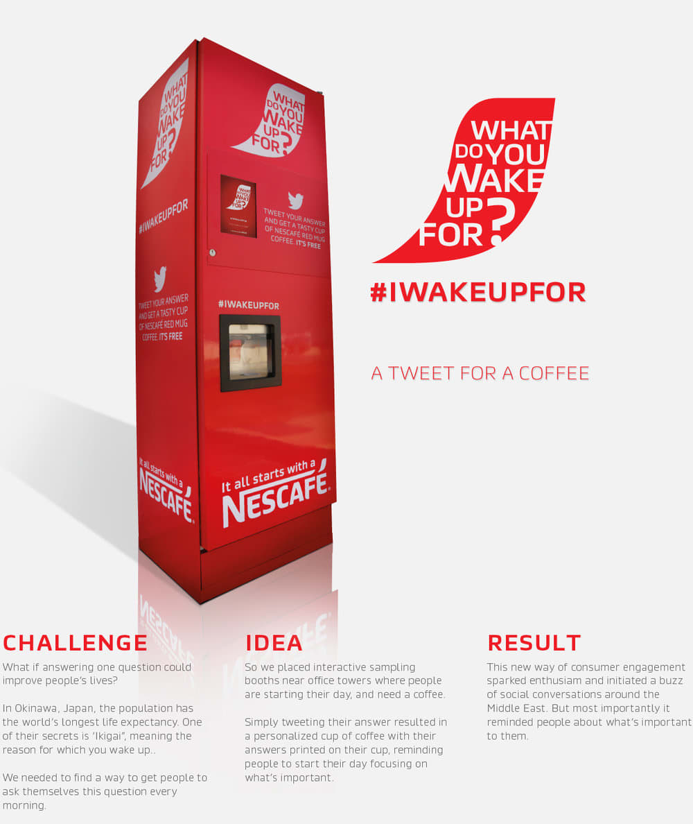Nescafé What Do You Wake Up For?