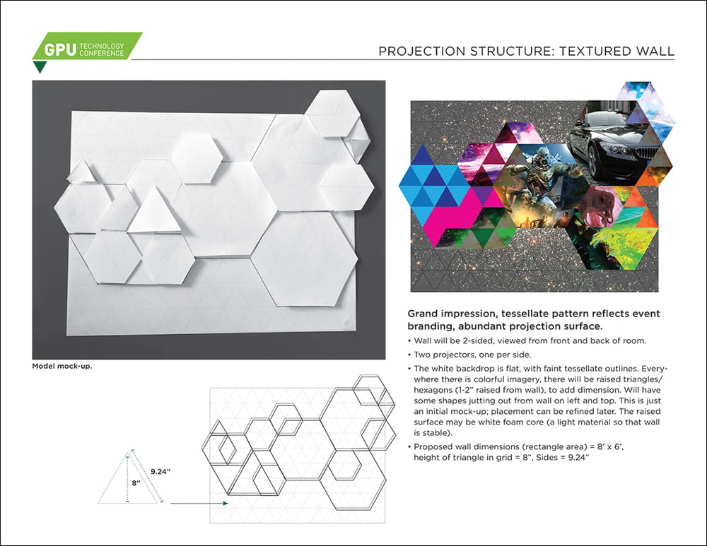 NVIDIA: Projection Mapping Installation