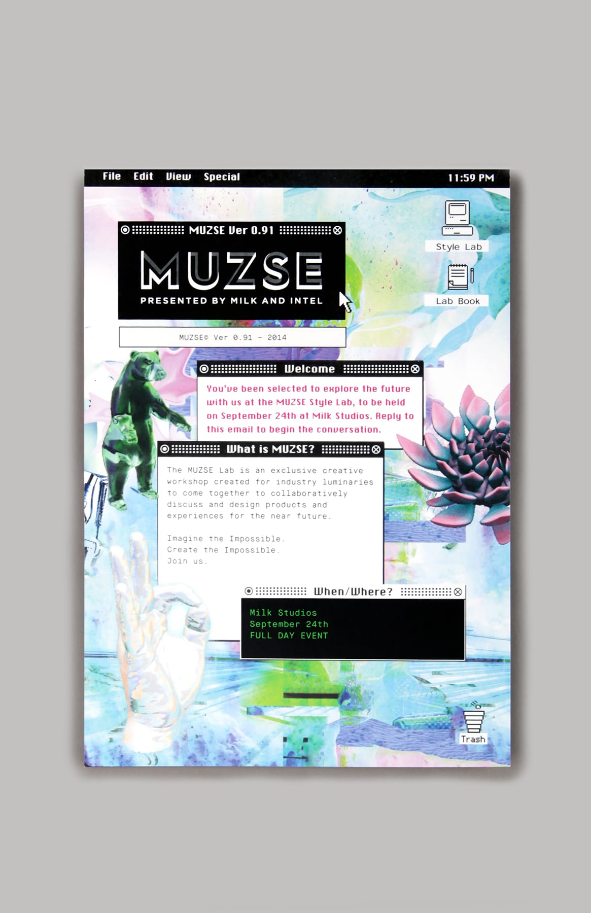 Muzse - Intel x Milk