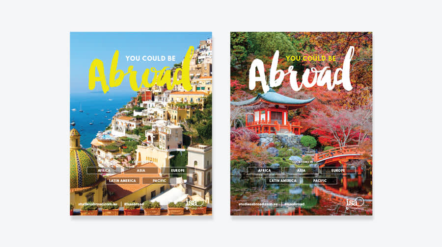 You Can Be Abroad Posters