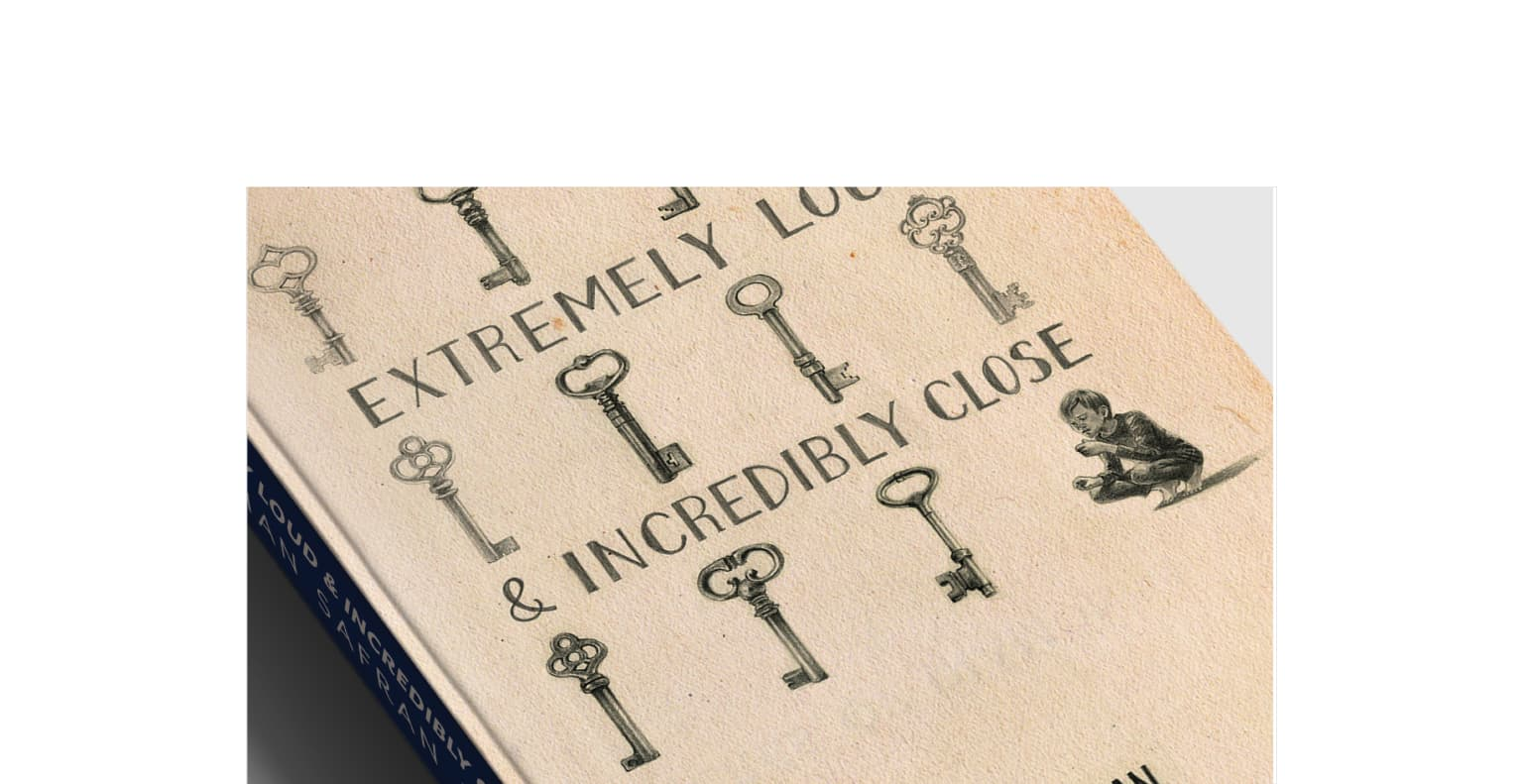 Book Cover Design: Extremely Loud & Incredibly Close