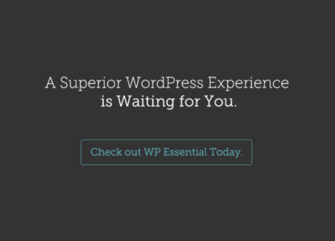 WordPress Essential Email