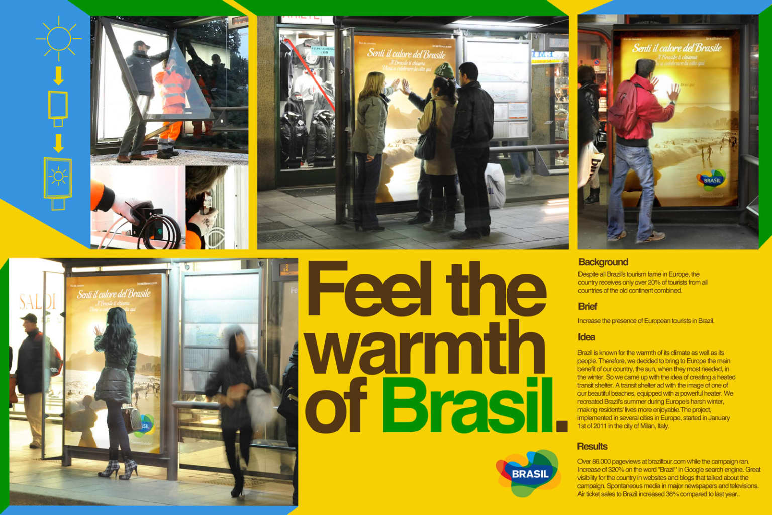 Feel the Warmth of Brazil