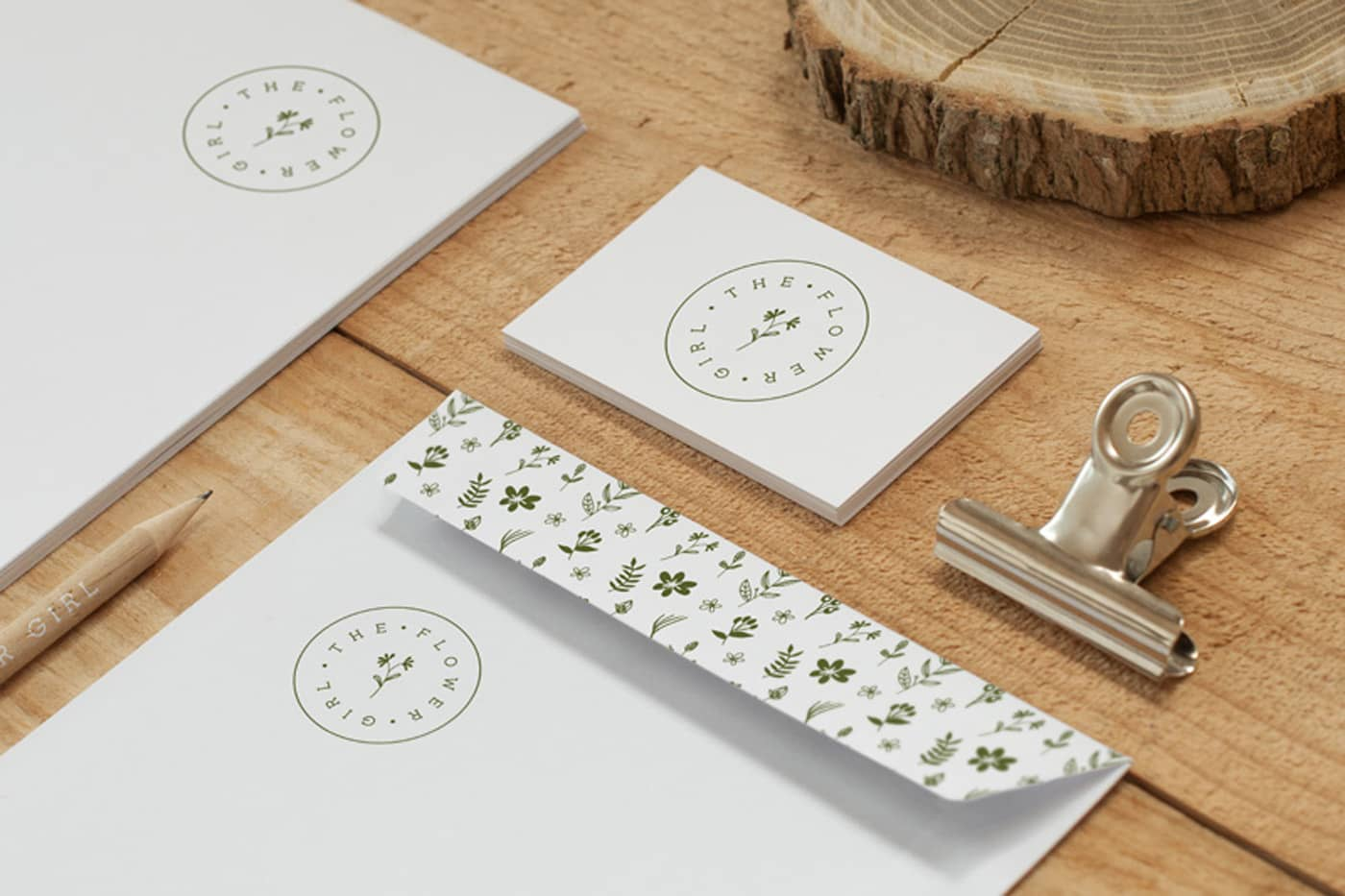 Branding project for small florist shop