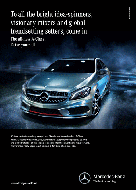 Mercedes: Launching the A-Class