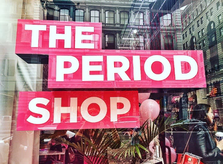 The Period Shop Brand Experience