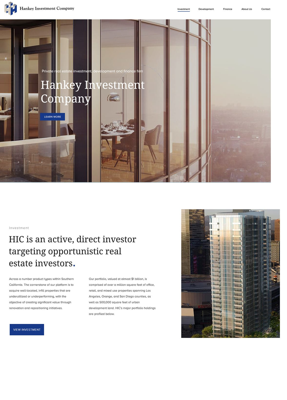Hankey Investment Company