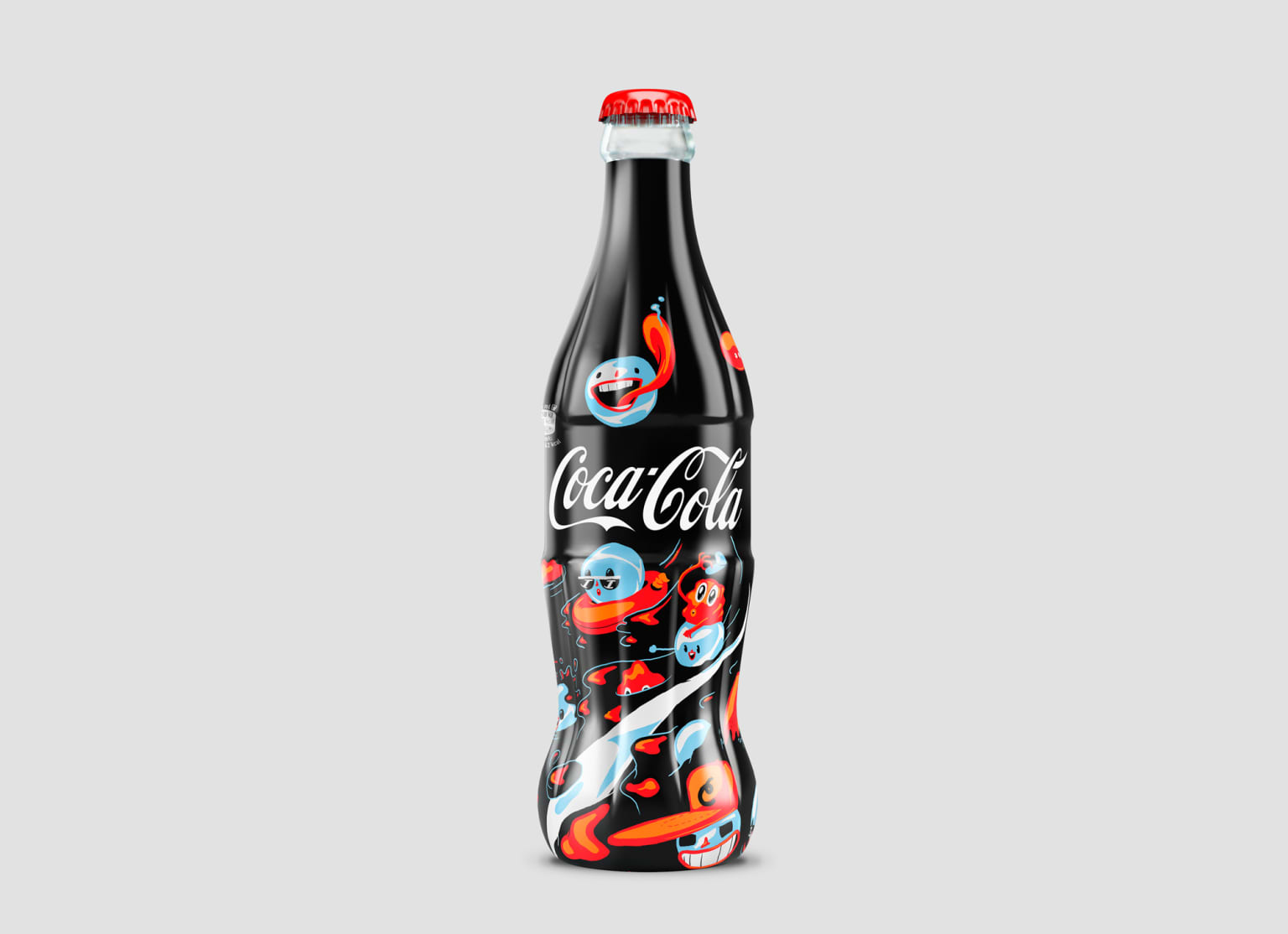 Coca Cola Limited edition by Linnch