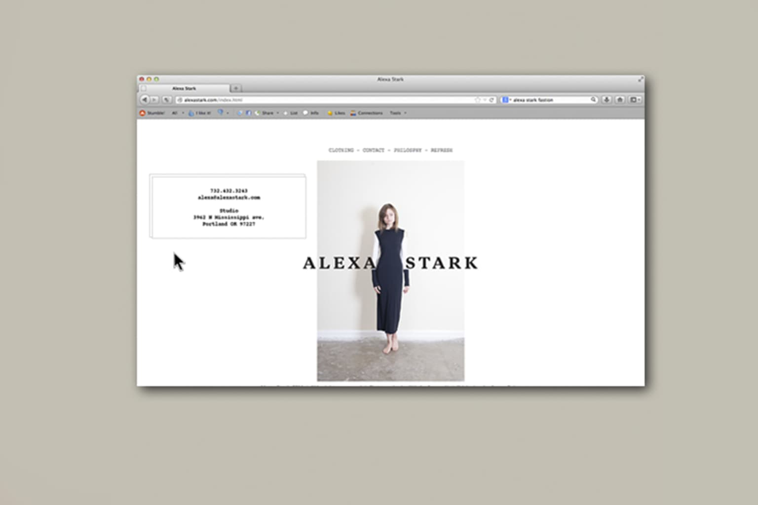 Alexa Stark Website
