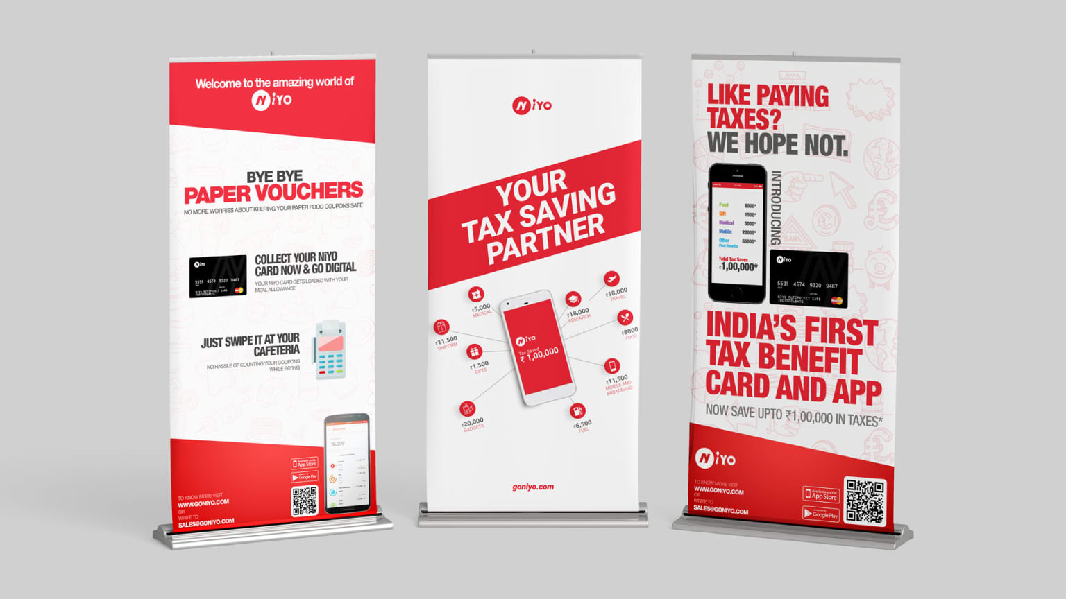 Marketing Collateral for NiYO Solutions